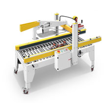 Side drive automatic fold the cover with wire carton sealer(FM-Z500B)